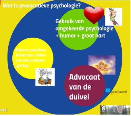 bijeenkomst provocatieve psychologie