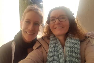 Dr. Charlotte Cordes en Adelka Vendl