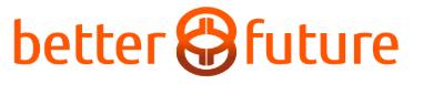 Better future logo