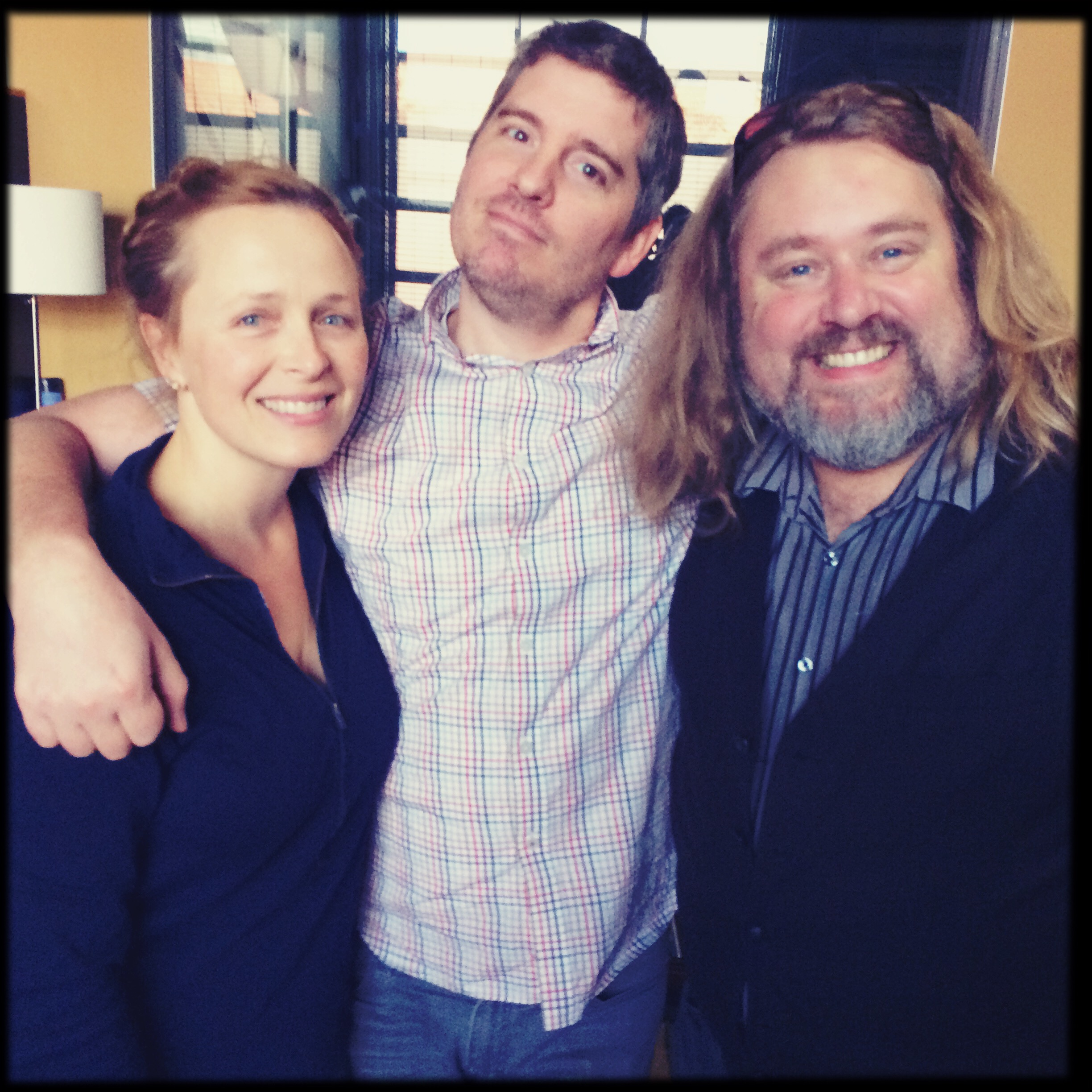 Kelly, Greg & Kevin at Ninth Street Opus Studios, Berkeley