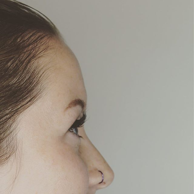 Can we all just agree that one of our fav parts of lash extensions is that side view 😍🙌🏼👌🏻 - Lashes by Morgan.