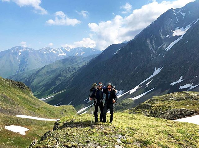 Adventure time! Vincent and Sander (two of our founders) went trekking in Georgia last week. Look at this view. Breathtaking, isn't it? 👀🏔⠀⠀⠀⠀⠀⠀⠀⠀⠀ •⠀⠀⠀⠀⠀⠀⠀⠀⠀ •⠀⠀⠀⠀⠀⠀⠀⠀⠀ •⠀⠀⠀⠀⠀⠀⠀⠀⠀ #gettinginspired #natureneverbores #caucasus #mountains #explore #exploremore #trekking #hiking #gooutside #offgrid #adventuretime #goingplaces #travel #lovefornature #newenergy #inspiration