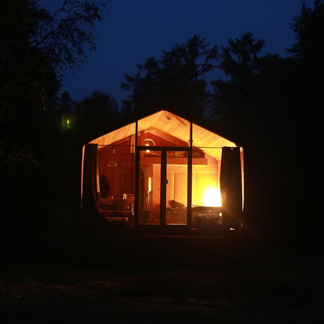 Thanks to the sun we can get cozy at night 🌞🌚⠀⠀⠀⠀⠀⠀⠀⠀⠀ •⠀⠀⠀⠀⠀⠀⠀⠀⠀ •⠀⠀⠀⠀⠀⠀⠀⠀⠀ •⠀⠀⠀⠀⠀⠀⠀⠀⠀ #solarpower #offgrid #cozy #romantic #getaway #cabin #inthewoods #cabiner #lovefornature #explore #cabinlife