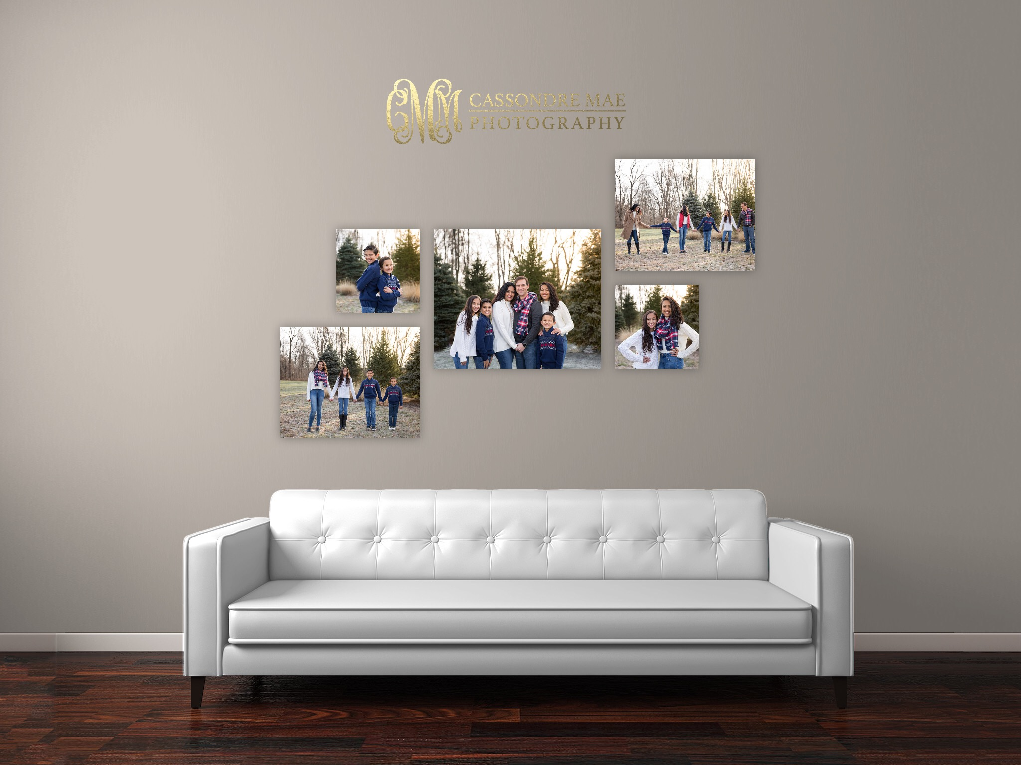 :: The Artsy Collection :: This collection comes with your choice of our premium Canvas Wraps or our sleek Vivid Metal prints. Choose the one to fit your style and show of your photos in a true gallery experience! Sizes Included:  2-12x12's, 2-16x20's, 1-20x24