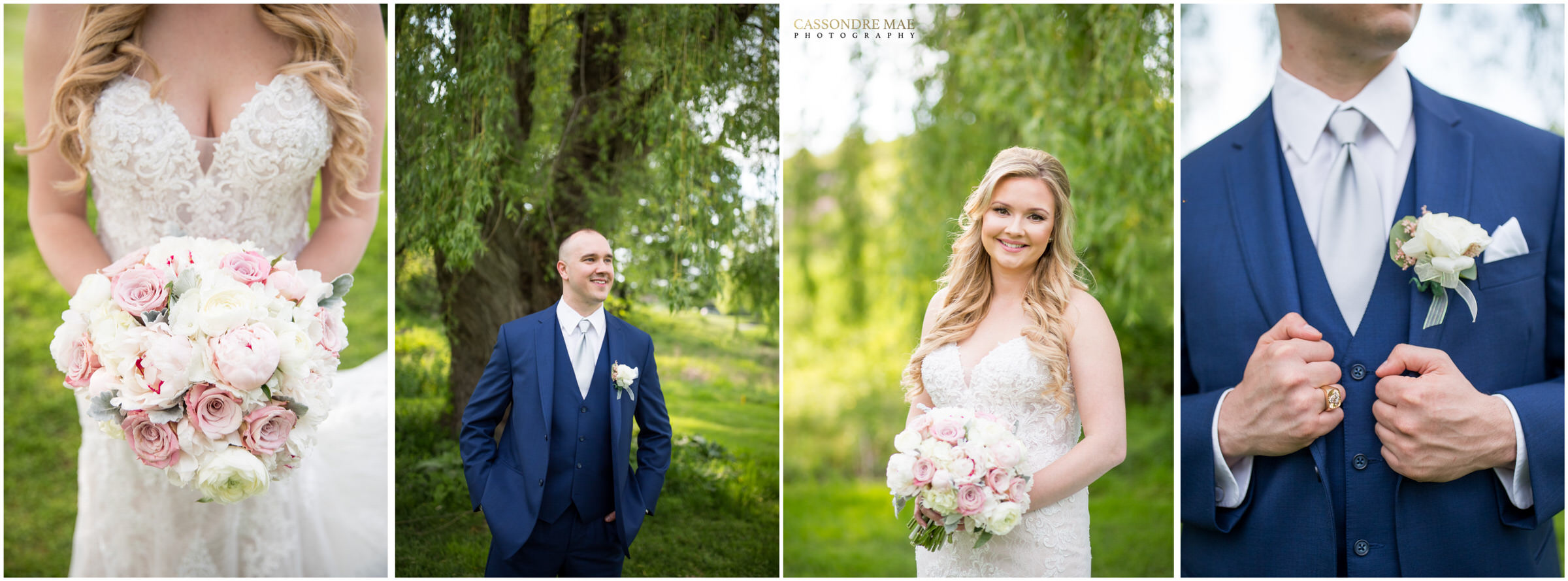 Cassondre Mae Photography West Hills Country Club Wedding