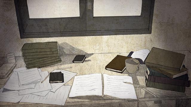 6-escriptori ple de fulls, llibres.. copia.jpg