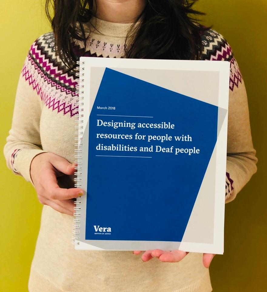 VERA Institute of Justice / / Accessible guide design