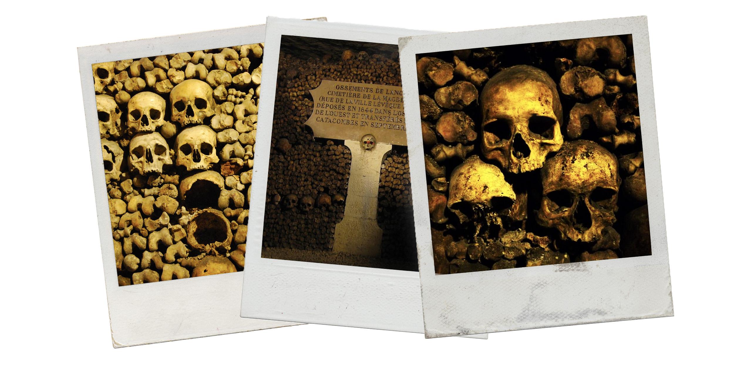 The Catacombs. Paris.