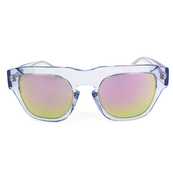 The Dagger Sunglasses in Crystal Clear
