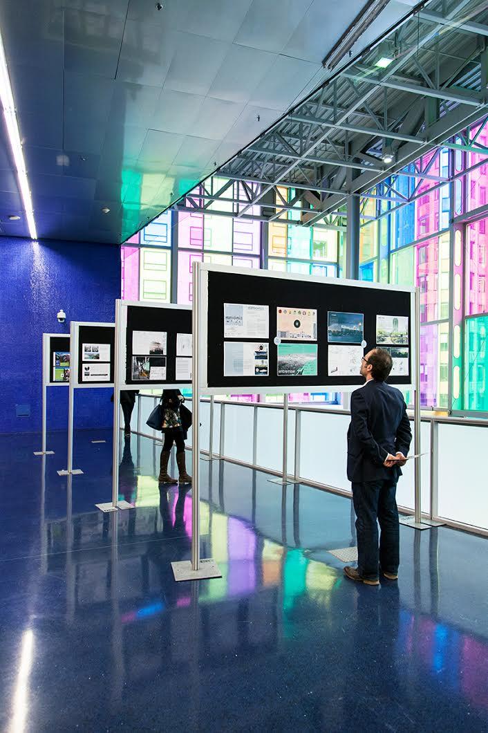 Un résumé du projet Entremise a aussi été exposé au Palais des congrès durant l'événement.