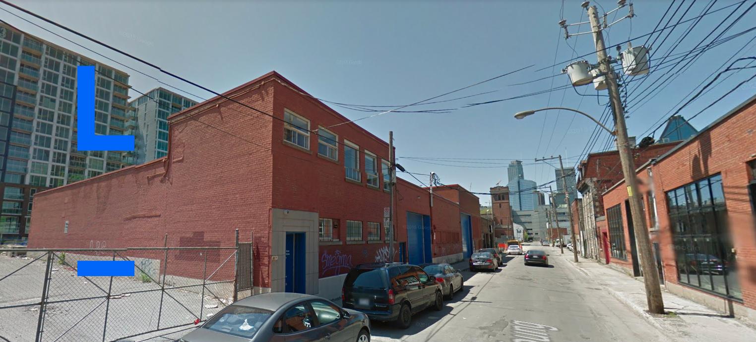 Le site du premier projet pilote de Laboratoire transitoire: le 204-206 rue Young, dans le Sud-Ouest