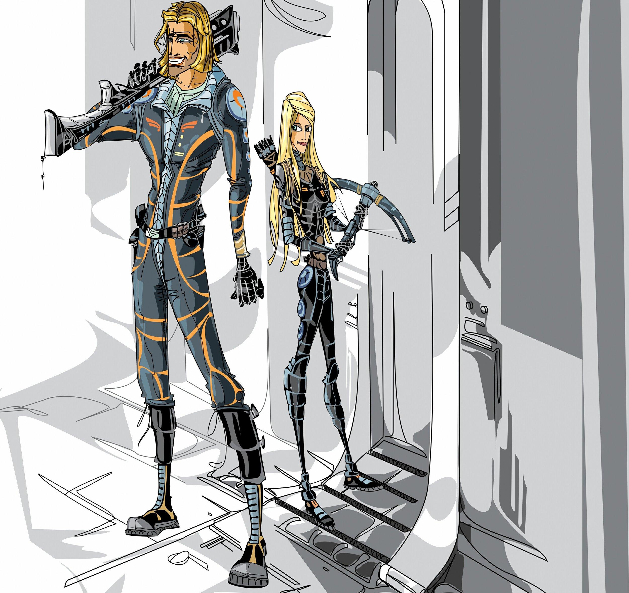 Titus and Jaka