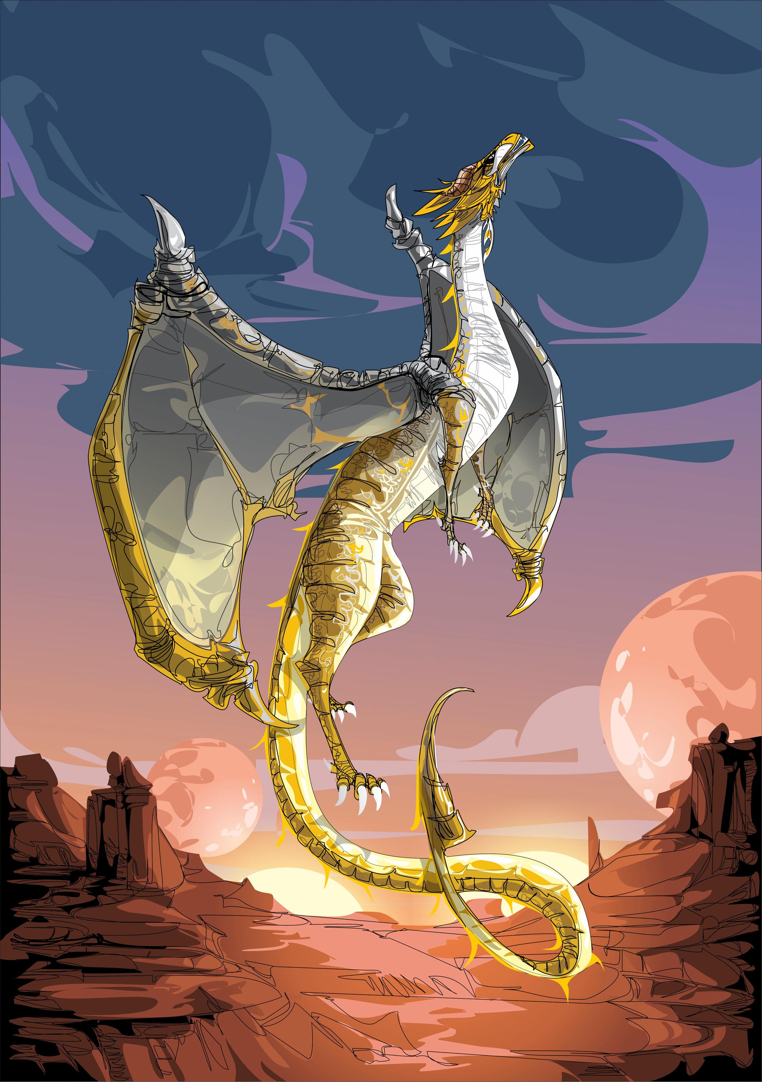 Mykanna dragon form.jpg
