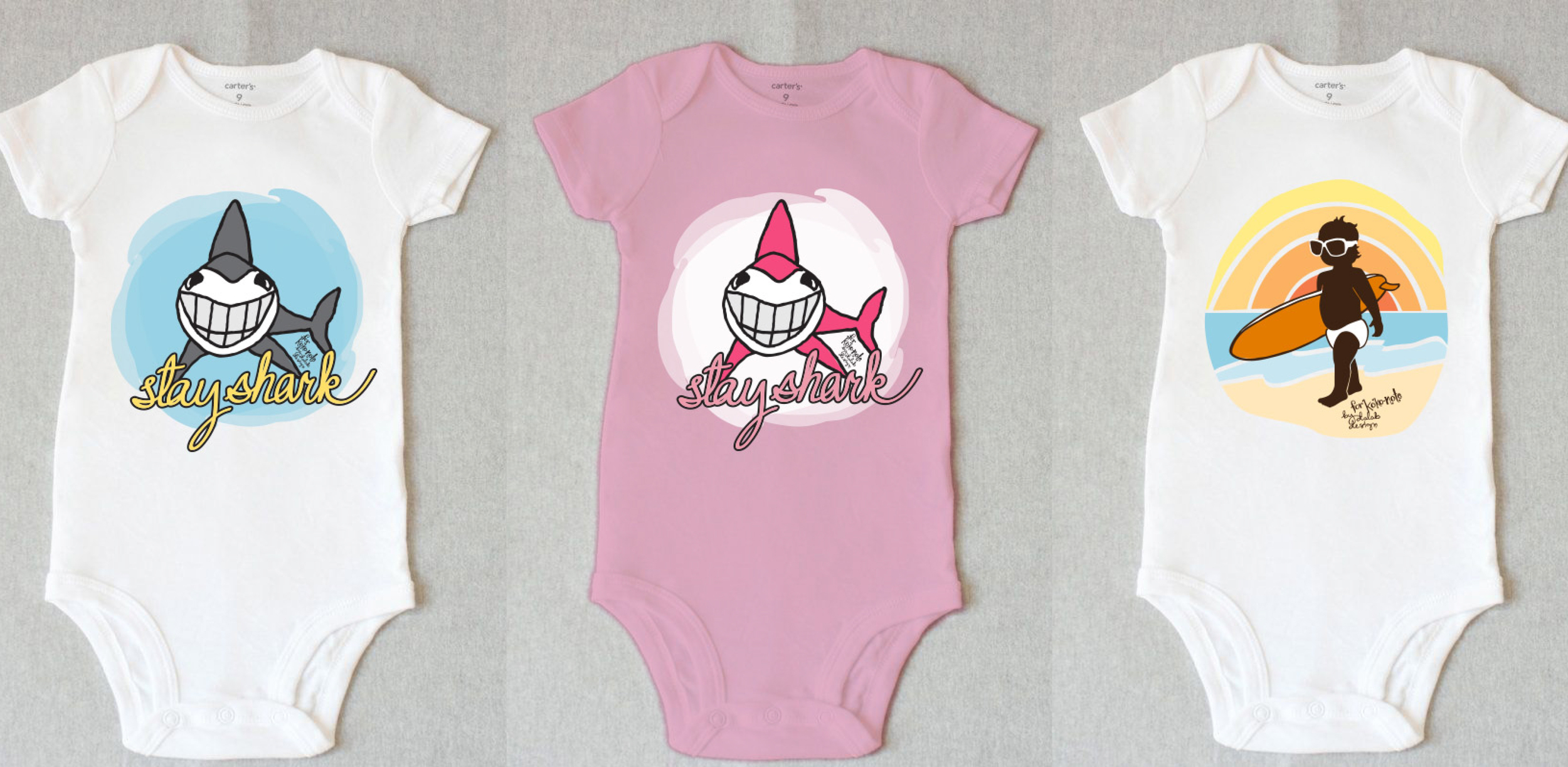 Graphics for baby onesies