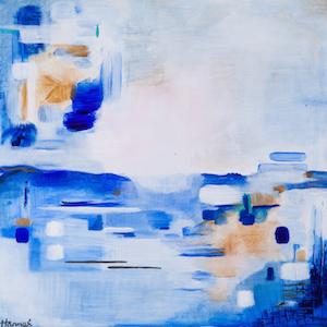 Blue Landscape #4