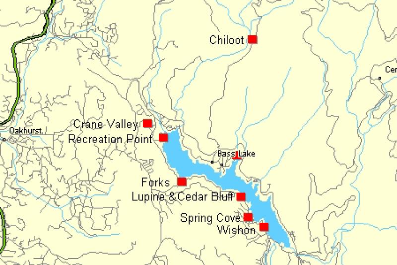 bass lake california map Activities Bass Lake Chamber Of Commerce bass lake california map