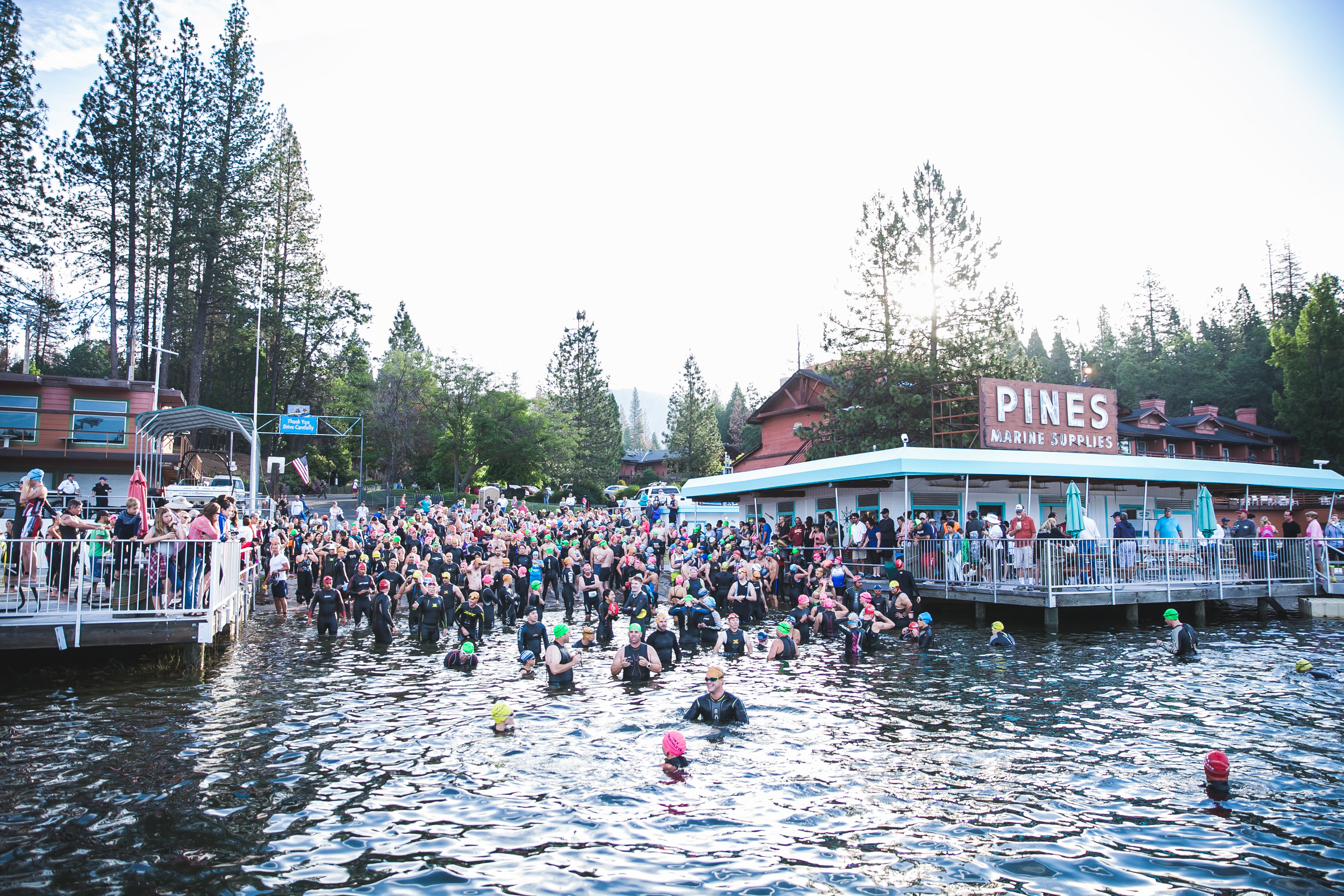 Bass Lake Yosemite Triathlon