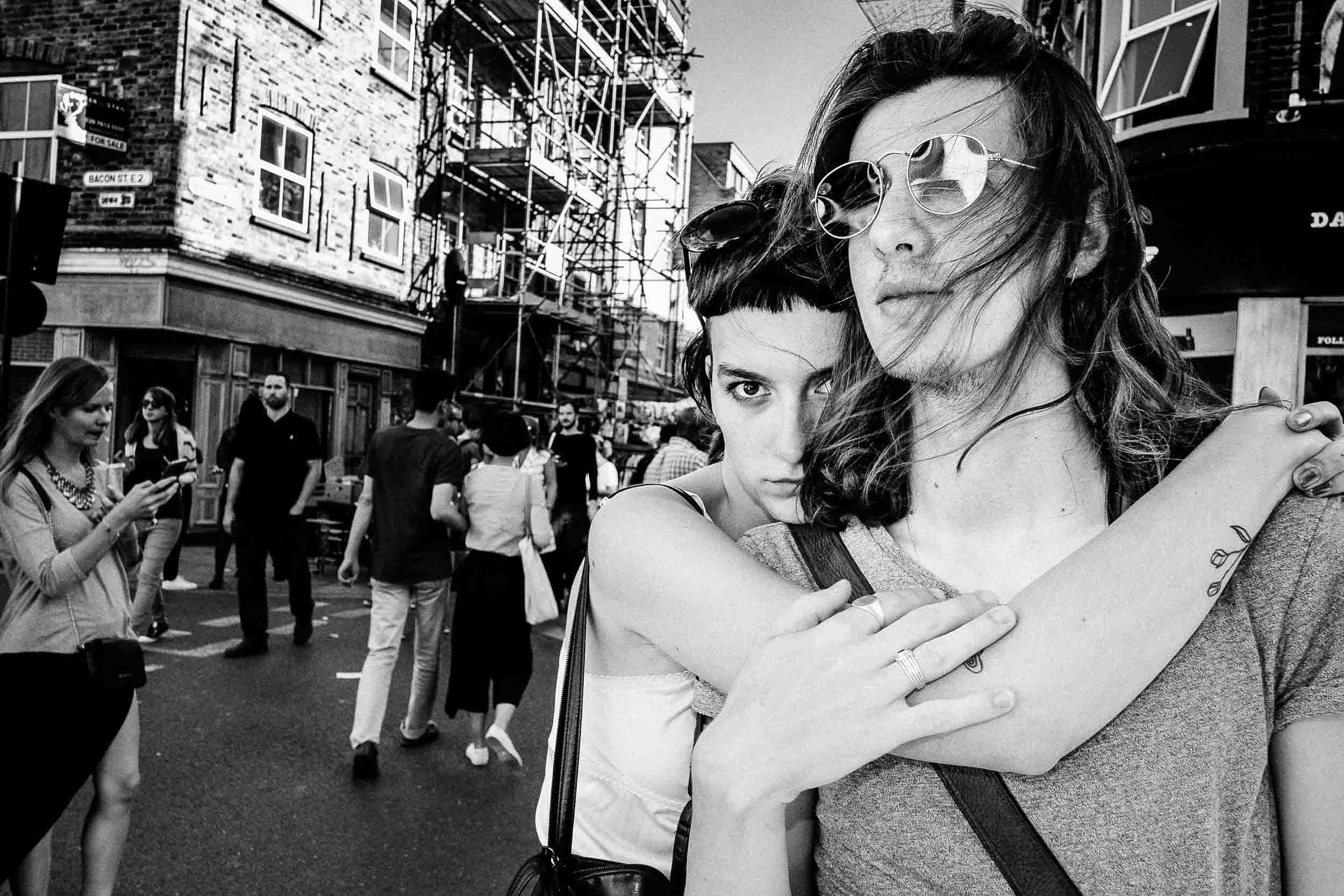 May & Ben  Couple.  London, UK.