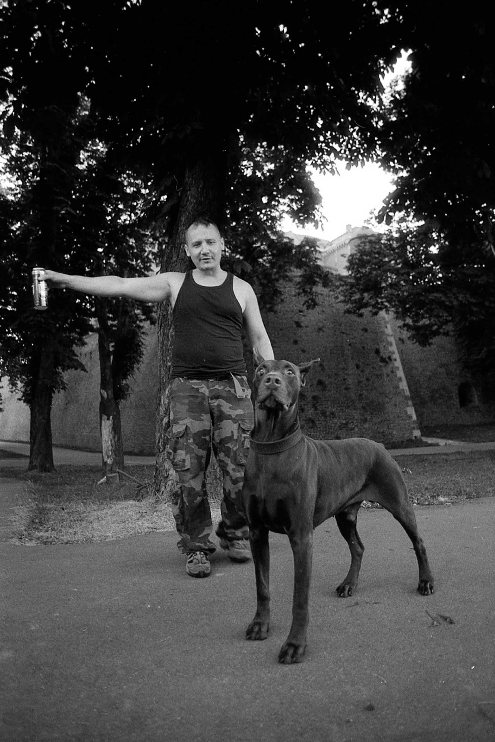 Unknown  Punk.  Belgrade, Serbia.