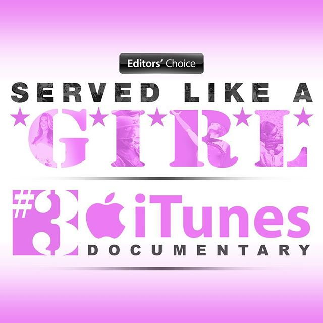 Editor's Choice. #3 on the iTunes charts. It just keeps getting better and better! Rent or buy it today! (Link in bio)  Let's make a difference in the lives of our #femaleveterans and of ALL #veterans. Support Final Salute Inc. and all of the veterans in your life! #ServedLikeaGirl ⠀ .⠀ #supportourveterans #editorschoice #documentary #army #navy #airforce #marines #coastguard #reserves #endhomelessness