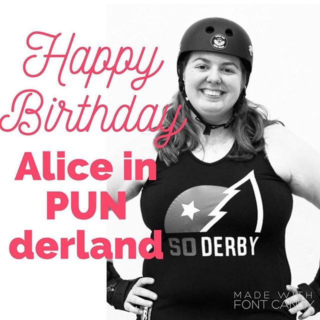 Happy Birthday to our very own Alice in PUNderland! Our big red hearts go out to you on your day ♥️ Photo Credit: DonyTop #soderby #birthday #southernoregonderby #pnwrollerderby #oregon #pnw #oregonrollerderby #sooregon #SOawesome  #leagueteamself #rollerderby #rollerderbyofig #rollerderbyofinstagram #derbyfit #derbylife #derby #derbyofig #derbyofinstagram #lovederby #loverollerderby #team #wearesoderby #lovederby  #derbyfit #fitness