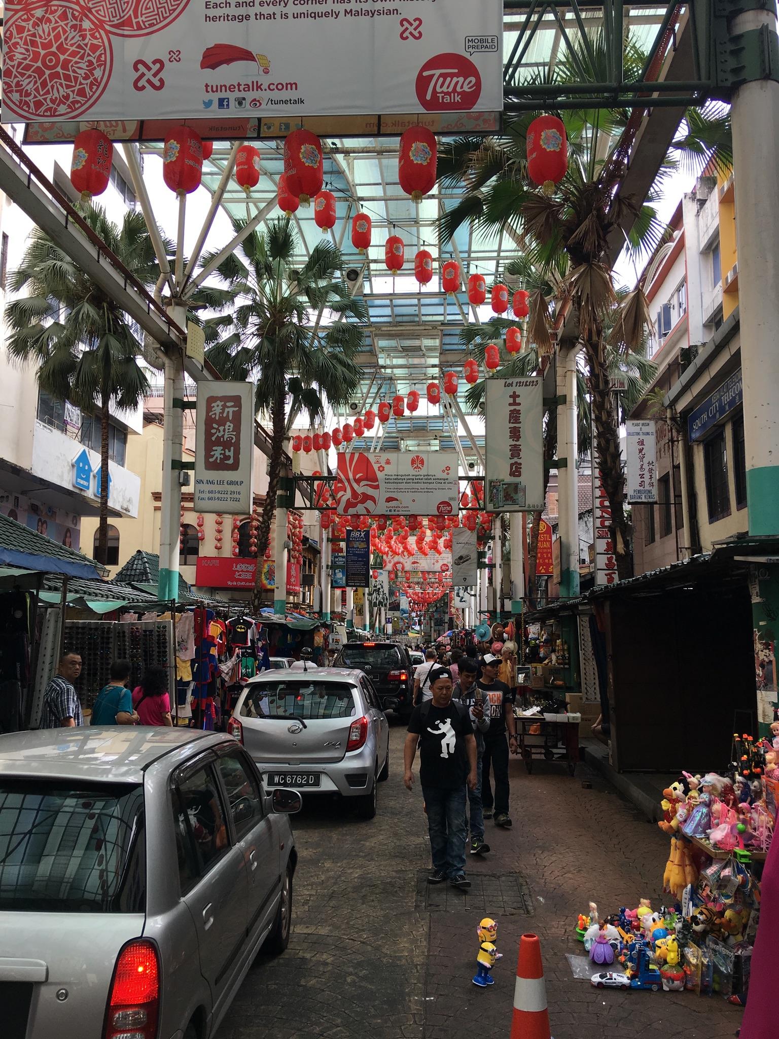 Petaling Street, Chinatown, Kuala Lumpur