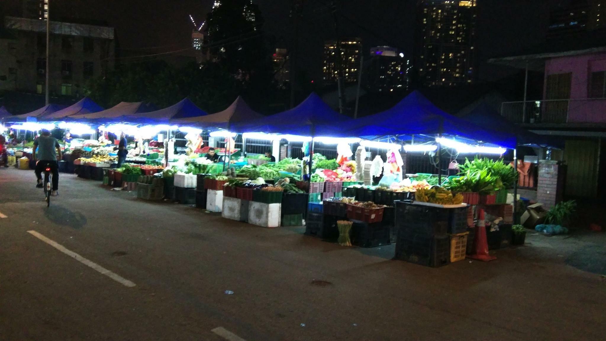 Wet Market of Kampung Baru