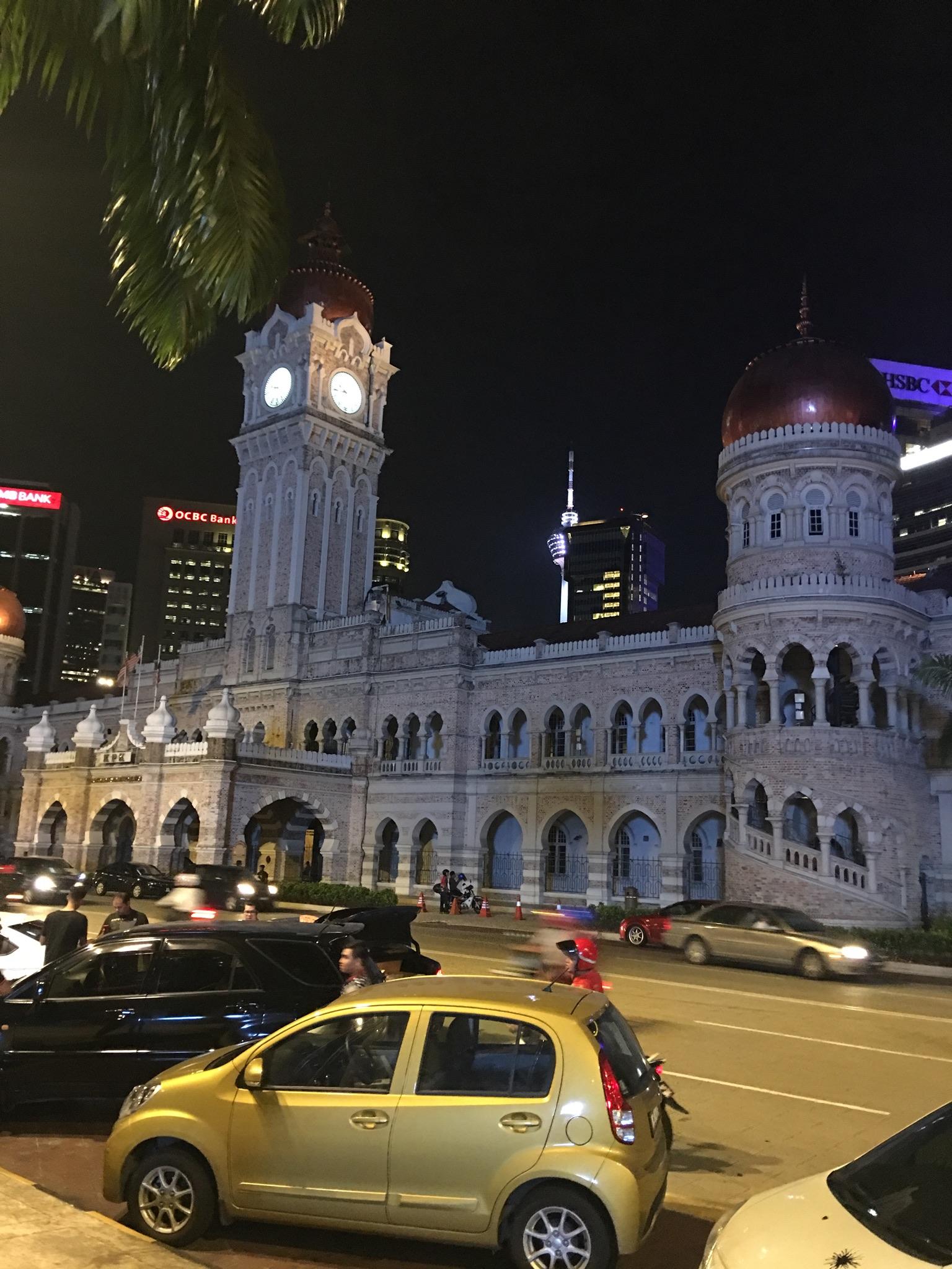Sultan Abdul Samad Building, Independence Square, Kuala Lumpur