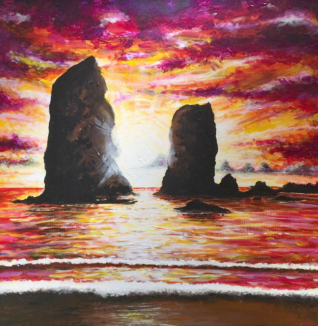 The Needles at Cannon Beach Painting.jpg