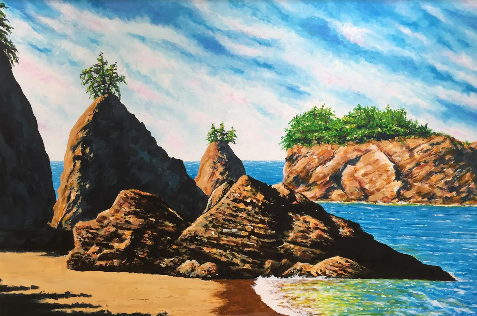 Bandon Beach Painting.jpg