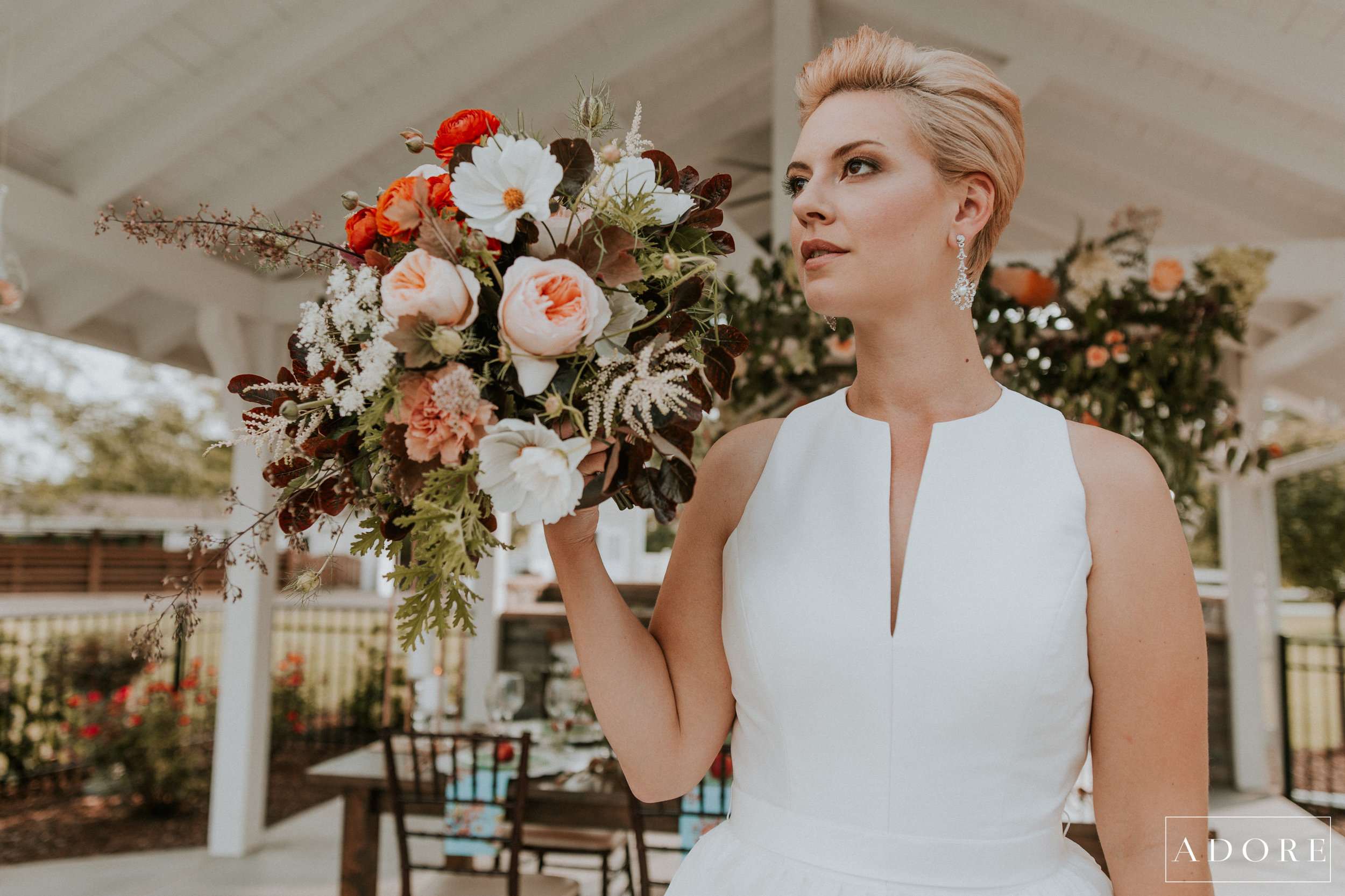 Professional Airbrush Makeup for Styled Wedding Shoot at Yoder Farm. Adore Wedding Photography. Hafner Florist. Belle Amour Bridal. Toledo Makeup Artist. 1.jpg