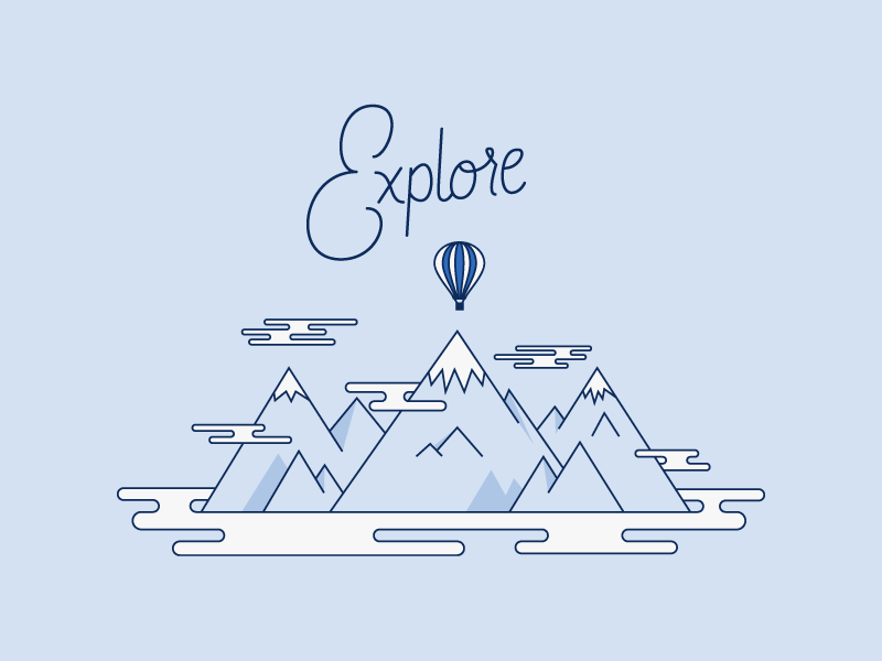 Almost every week, designer + illustrator, Nick Brito and I create a piece together. We brainstorm different ideas and usually start with a theme. From there, we come up with a word or a quirky phrase. The  illustration is by Nick  and the lettering is by me.  Check out his work  here !