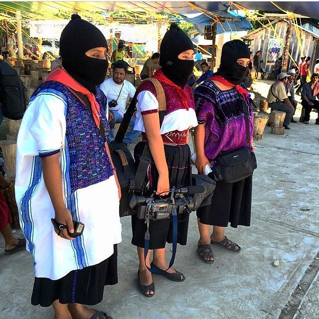 ezln-chiapas :   Las mujeres zapatistas y su interminable lucha por todos… Desde las montañas del sureste mexicano #chiapas #mexico