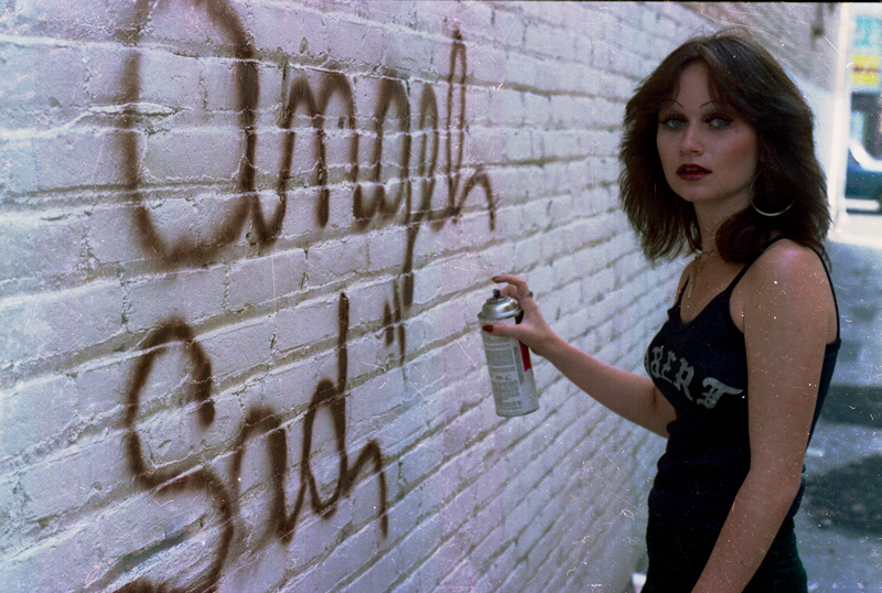 Graffiti writer / 1978 /  Photo by and courtesy of  John Valadez