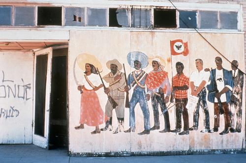 Antonio Bernal, untitled, 1968 at the Teatro Campesino headquarters, Del Rey, CA