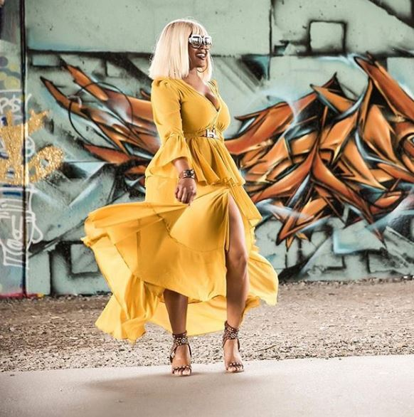 @shop_eshe - SHARING IS CARING!USE #EsheLuv & #ShopEshe FOR A CHANCE TO BE FEATURED ON OUR INSTGRAM!IN THE IMAGE: @CLAIRESULMERS OWNER OF FASHIONBOMBDAILY.COM IN OUR 'LEMONADE' MAXI