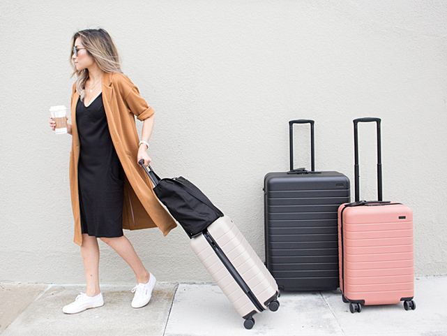 LIVE THE JETSET LIFE             SHOP NOW - TAKE ON TRAVEL SEASON WITH FUNCTIONING STYLE!BEAUTIFUL LUGGAGE WITH PLENTY POCKETS, CUBES FOR ORGANIZATION , PLUSHY NECK PILLOWS & FUN TAGS MAKE TRAVEL SEASON STYLISH, FUNCTIONING & EASY!