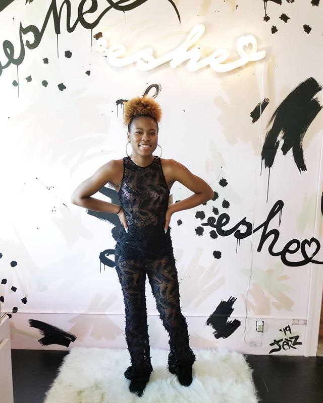 Dear high school luvs rock a @shop_eshe jumpsuit to prom👑 . . #ShopEshe #EsheLuv #EsheBoutique