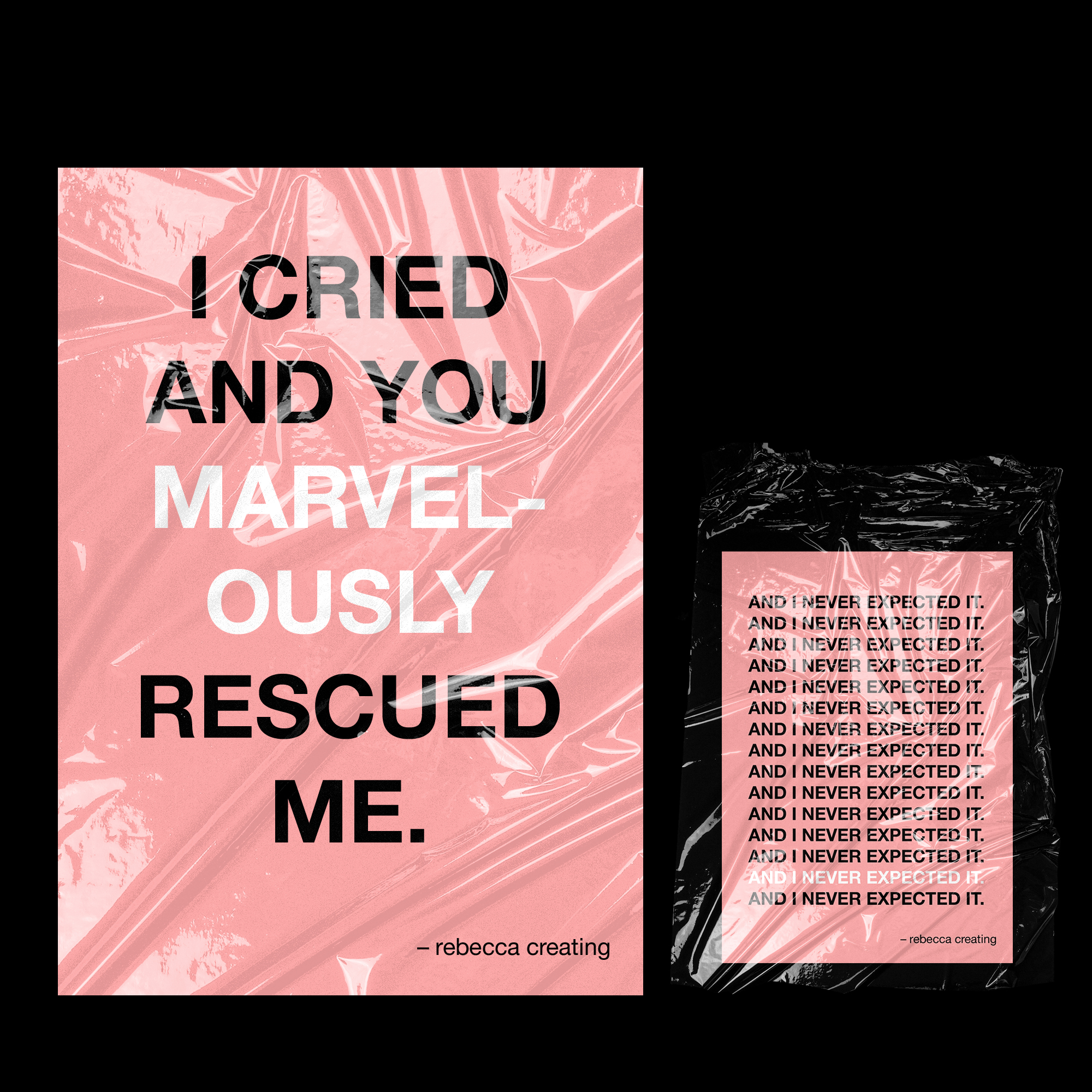 I Cried And You Rescued Me