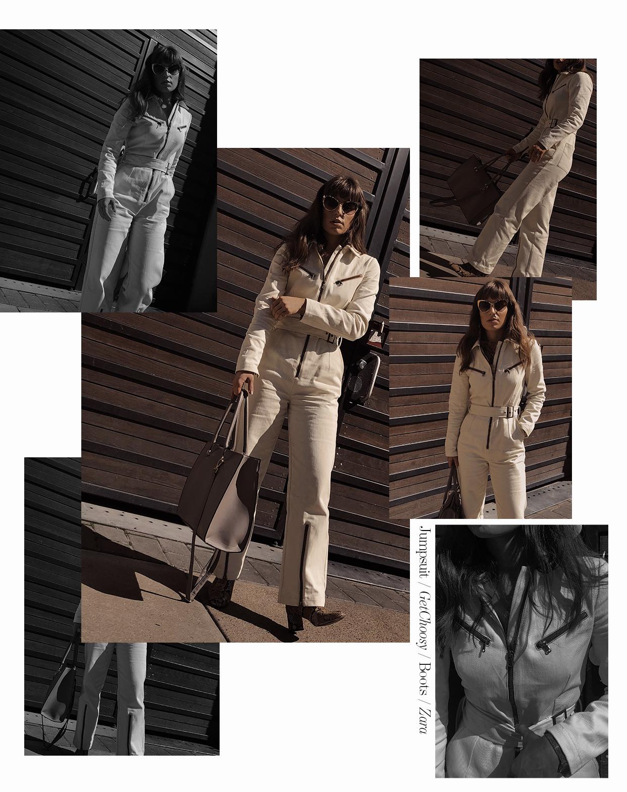 Get Choosy Denim Jumpsuit - Rebecca Creating