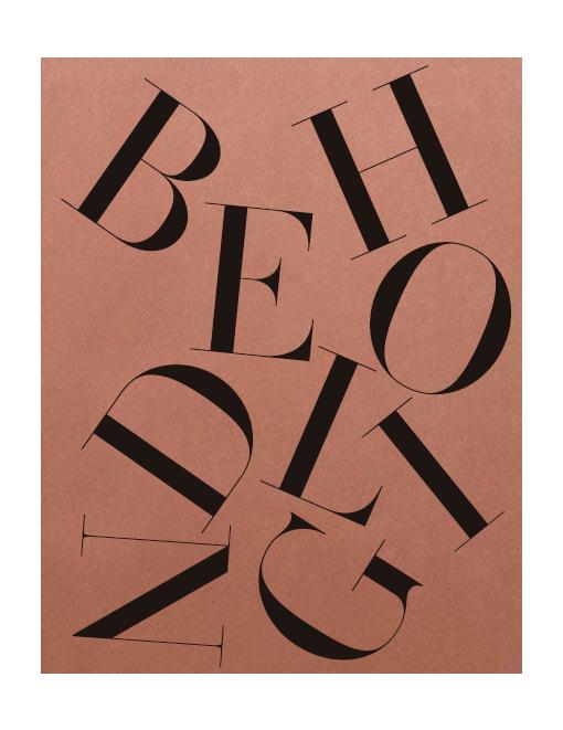 beholding type design