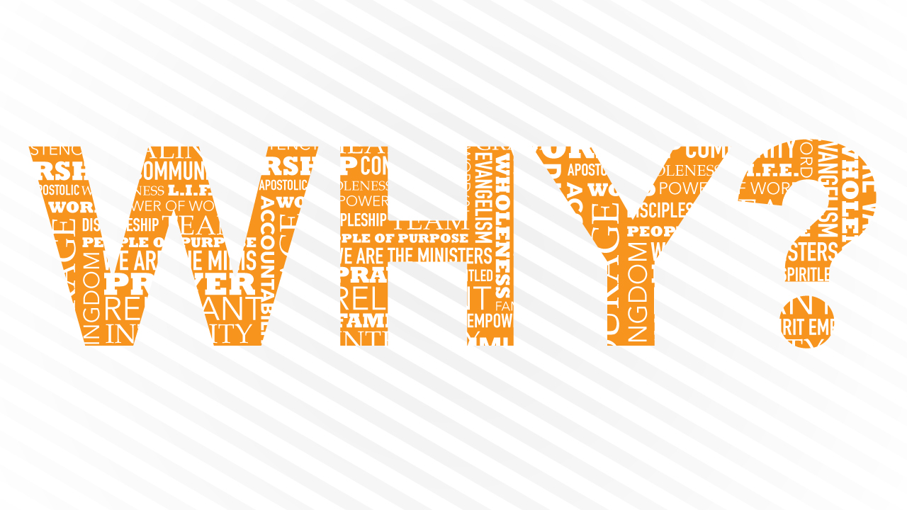 2017 - Why? - In 2017 it was back to the basics with a goal to answer the 'why' of 'what we do as a church'. Understanding the 'why behind the what' is a powerful place for individuals and a missional church family. Watch the opening message to this important season in the life of Grace North Church by clicking on the graphic. Note: During this year a pastoral change occurred. Listen in on the sermon from Pastor Marion Ingegneri entitled: