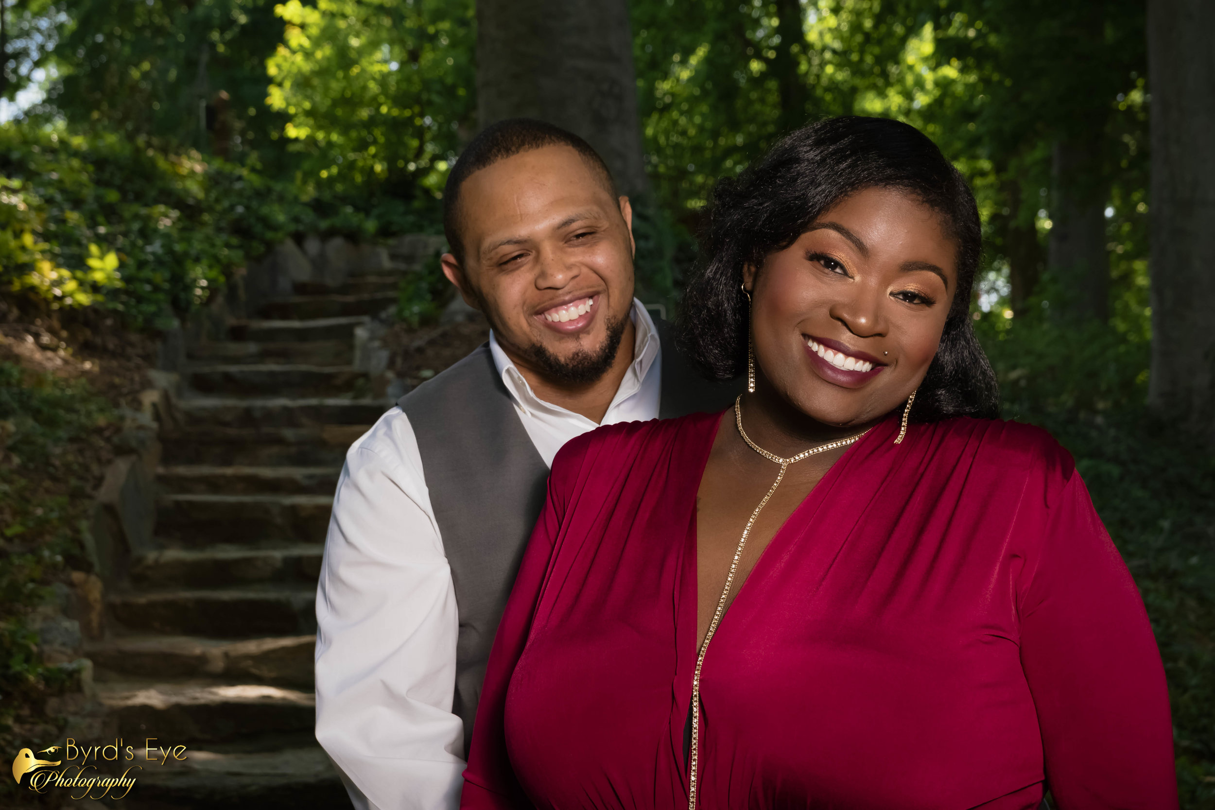 Professional Engagement Photographer| Spartanburg South Carolina| Byrds Eye Photography