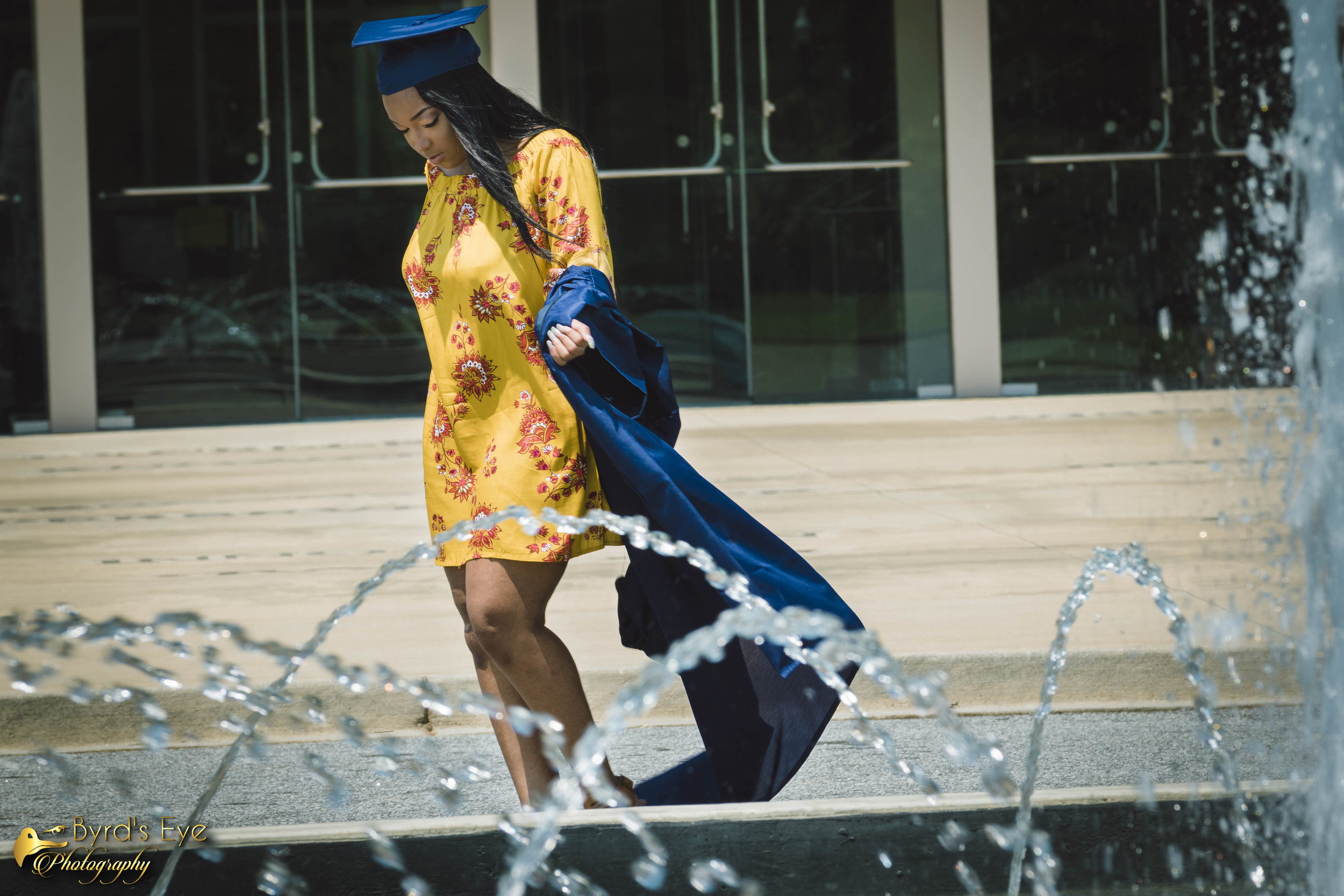 Professional Graduation Photographer| Spartanburg South Carolina| Byrds Eye Photography