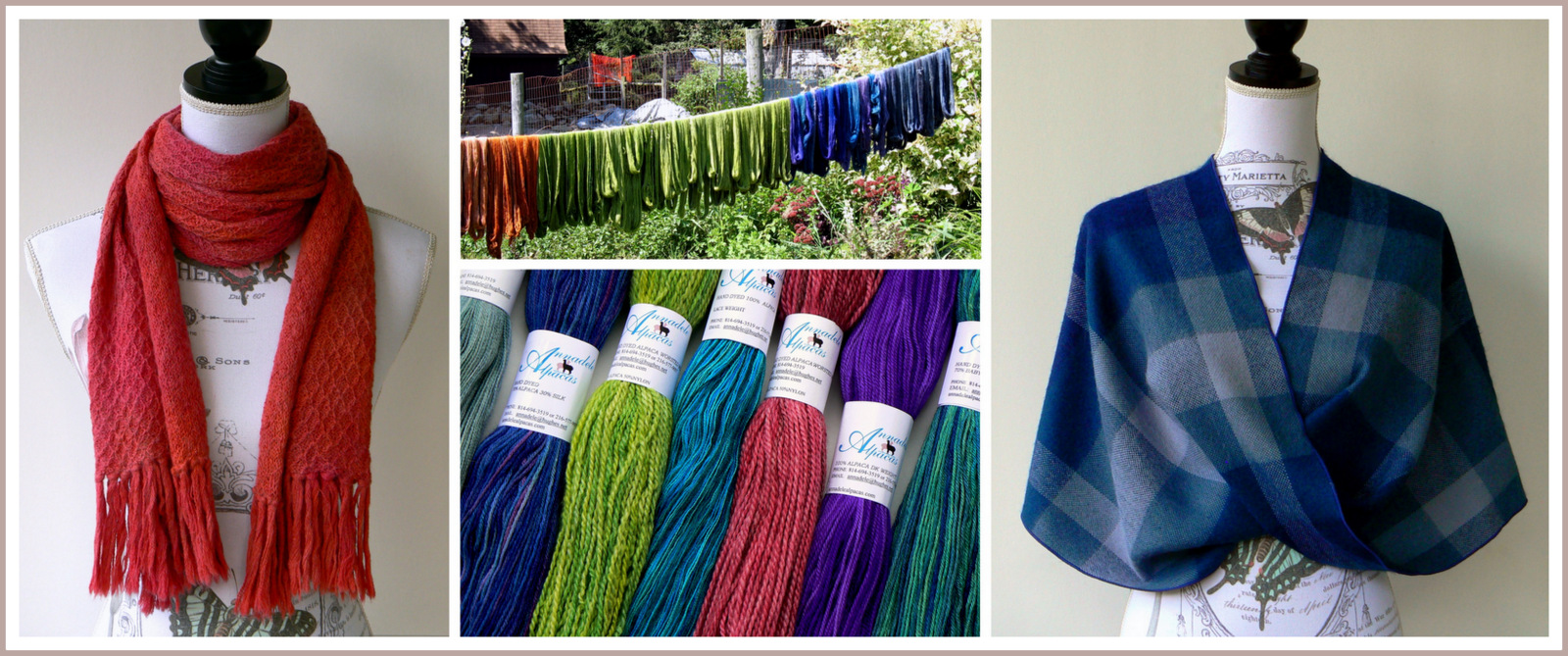 Farm Store - Fine Crafted Alpaca Yarns and Products