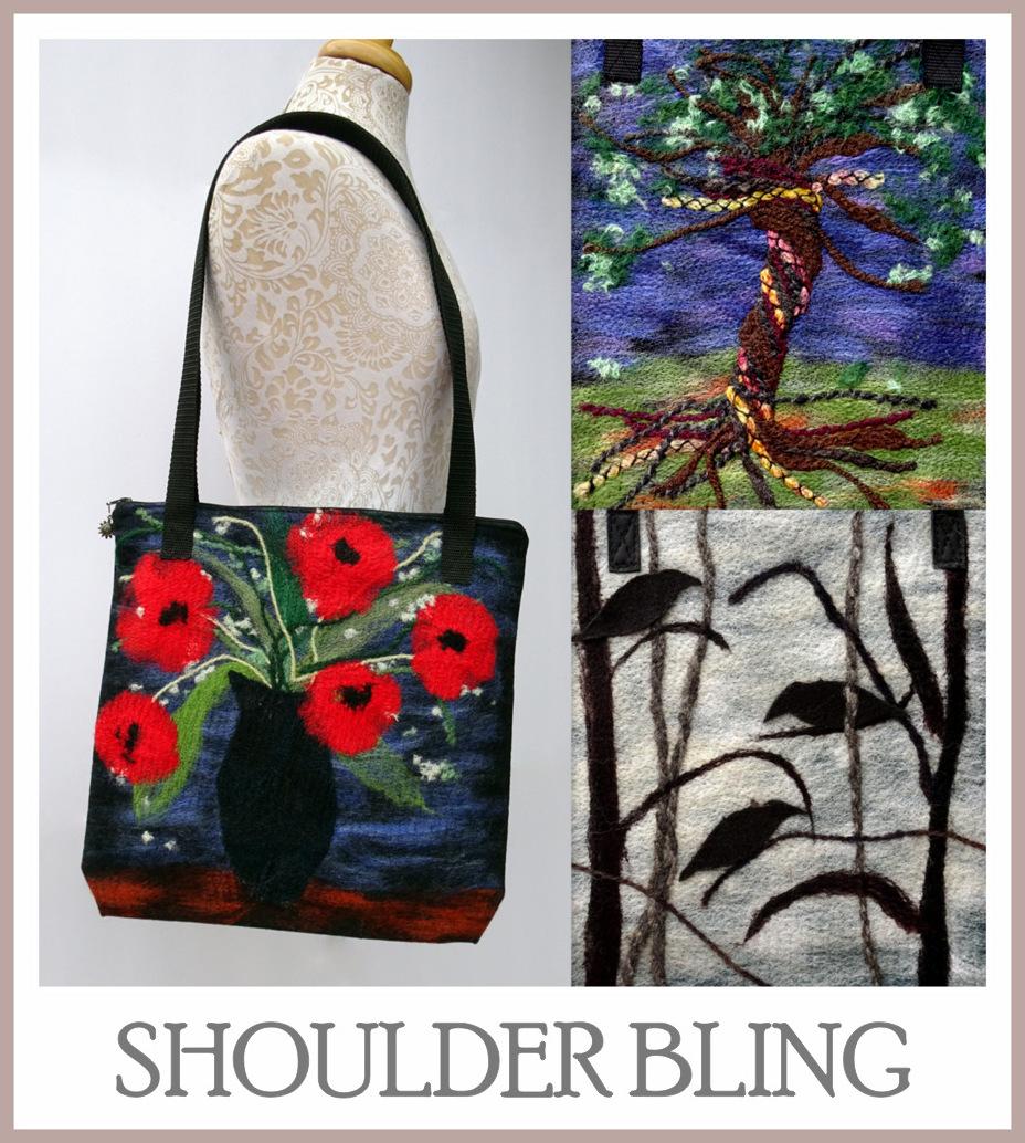 Alpaca Shoulder Bags