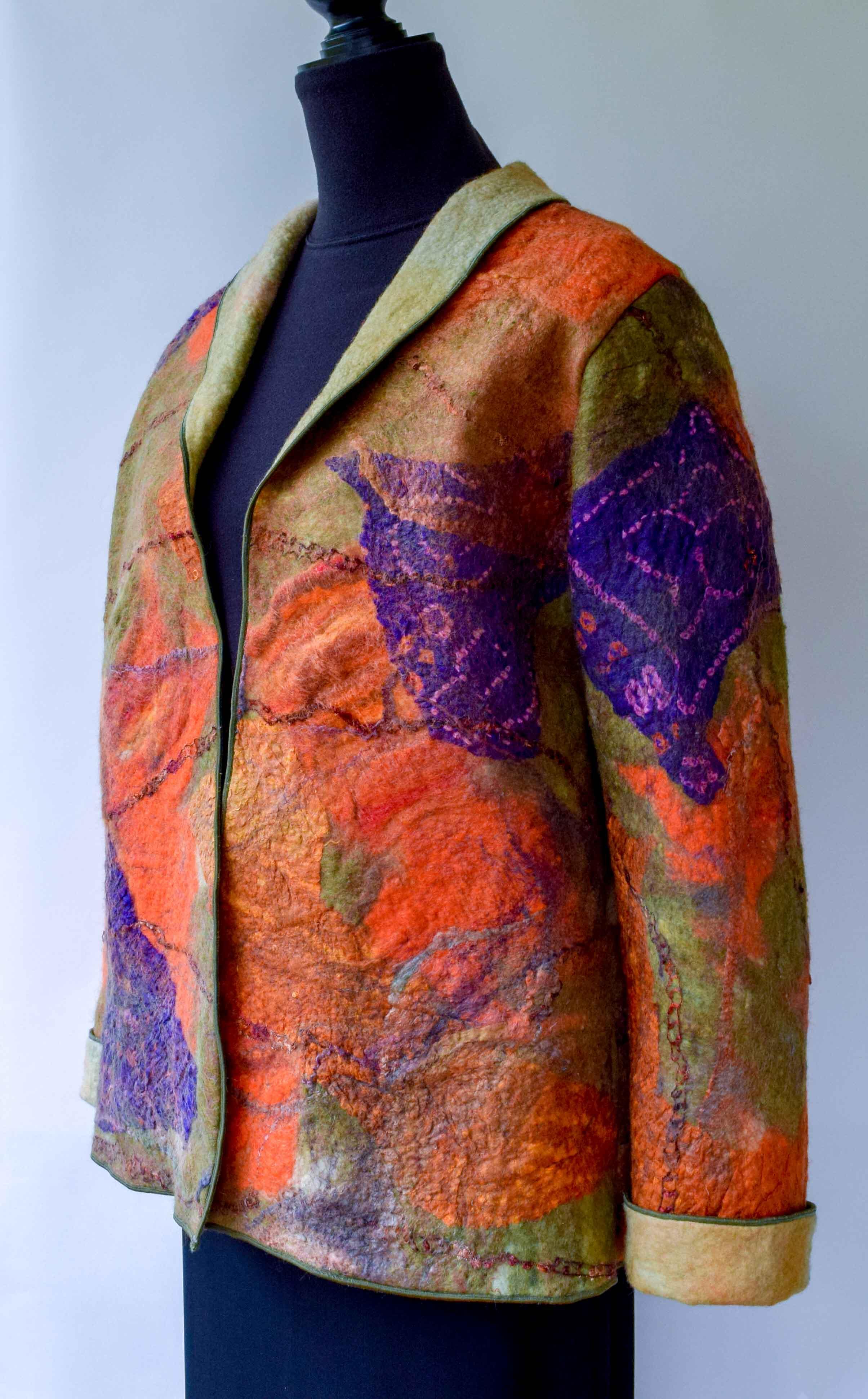 orange purple felted jacket angle.jpg