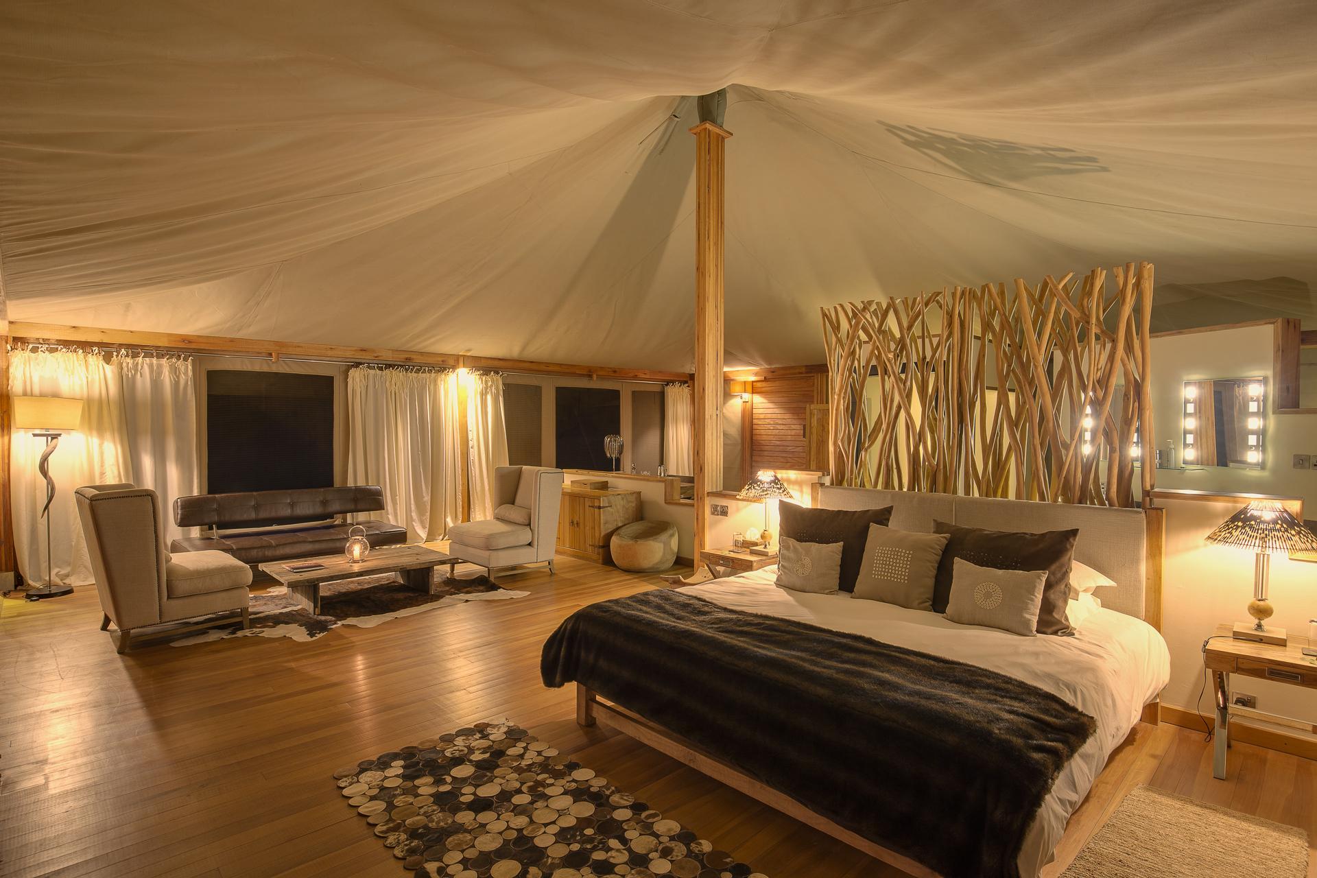 Elewana Loisaba Tented Camp - accommodation - spacious luxury tents - interior (c) Mario Moreno- 3.jpg