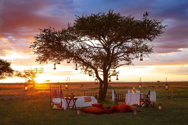 Where the magic happens. Singita Sabora Tented Camp, Serengeti National Park.
