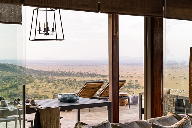 Take your African honeymoon up a notch. The latest Hillside suite at Singta Sasakwa Lodge sits perched on a cliff edge overlooking the vast plains of the Serengeti, while providing barefoot luxury in an infinitely romantic setting.